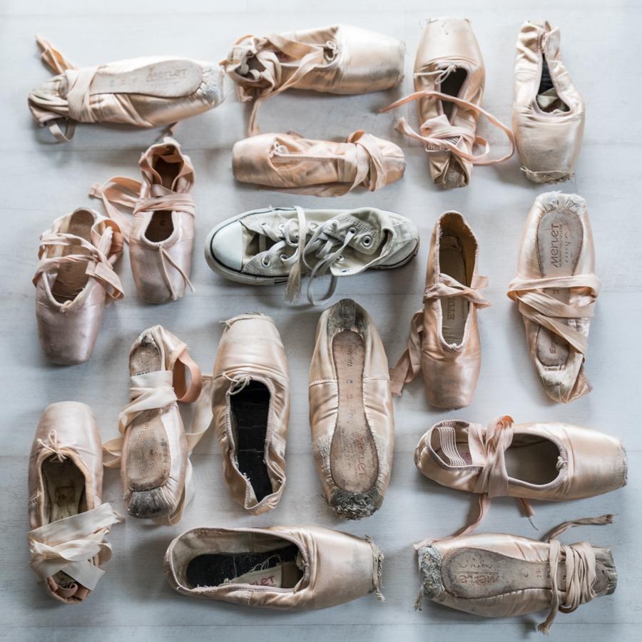 1fda632c10e5 Ballet shoes x Converse. By Paloma Barret