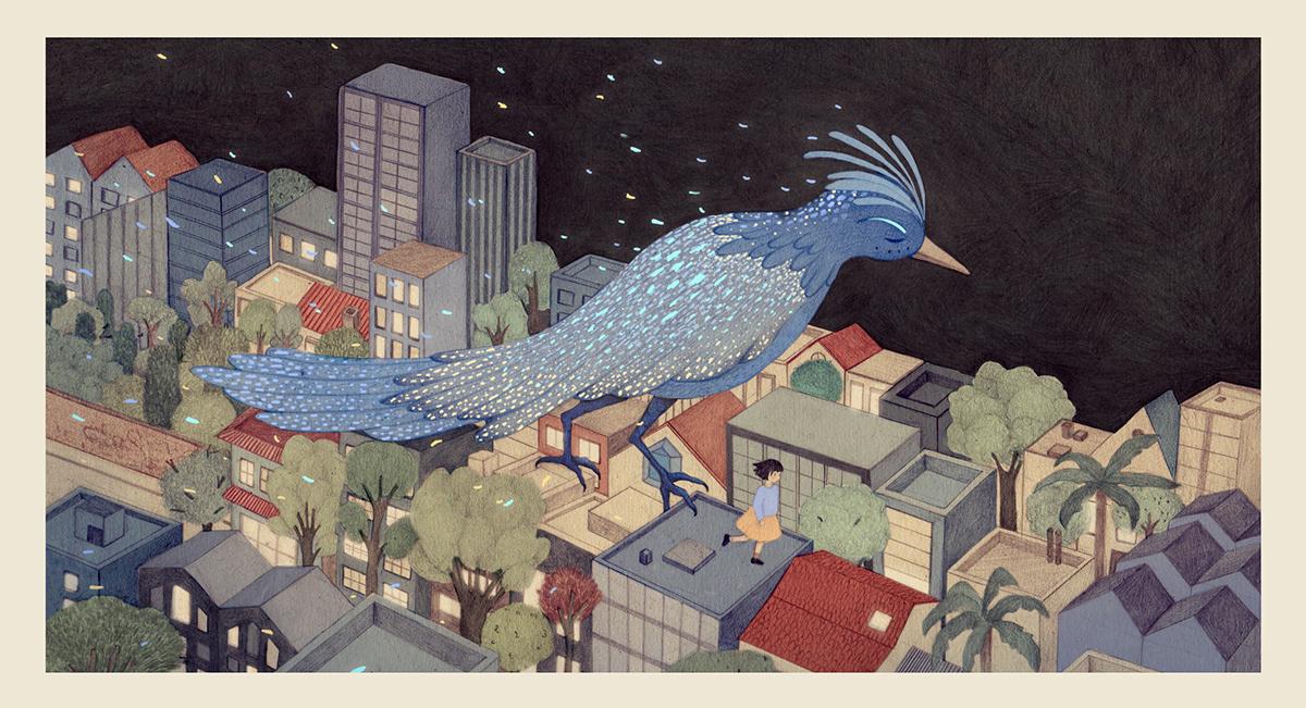 Image may contain: bird and cartoon