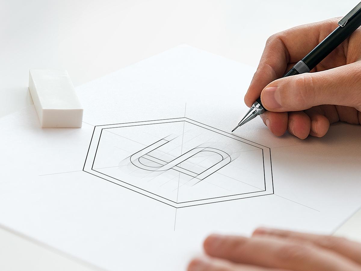 brand creative business card Webdesign Web Responsive Mockup letterpress logo sketch