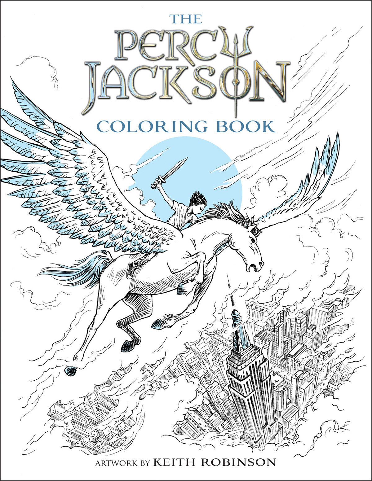 The Percy Jackson Colouring Book On Behance