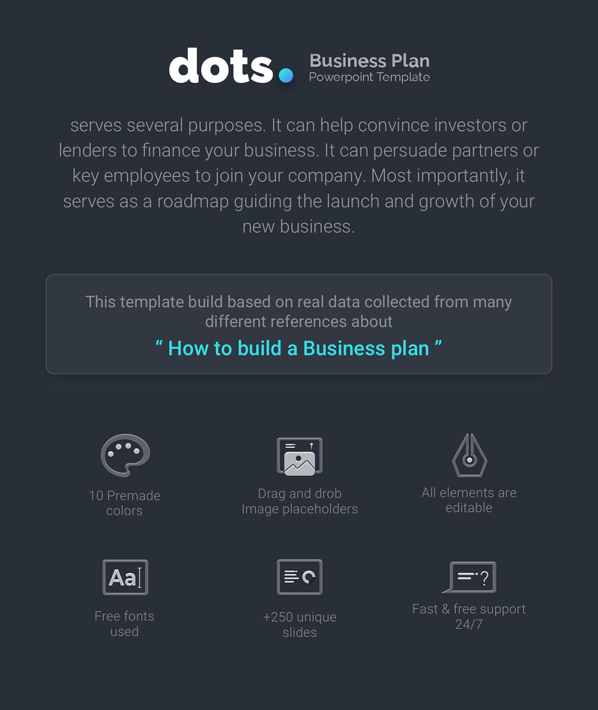Dots Business Plan Powerpoint Template On Behance