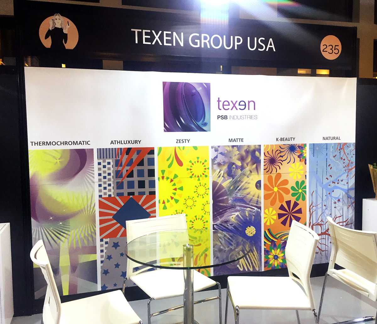 Texen Trade Show Booth Design For Makeup In Ny On Aiga Member Gallery