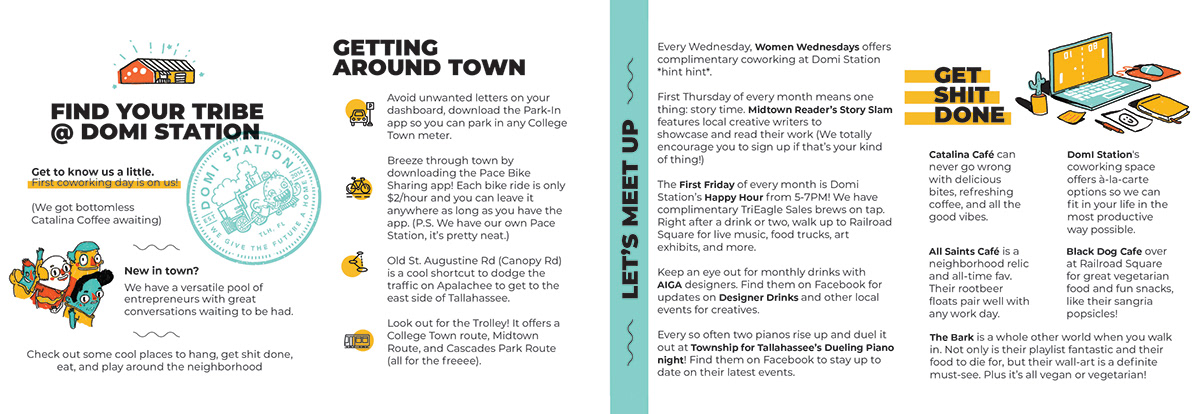TLH Welcome Guide Book on AIGA Member Gallery