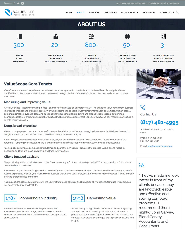 ValueScope Web and Splainer Videos