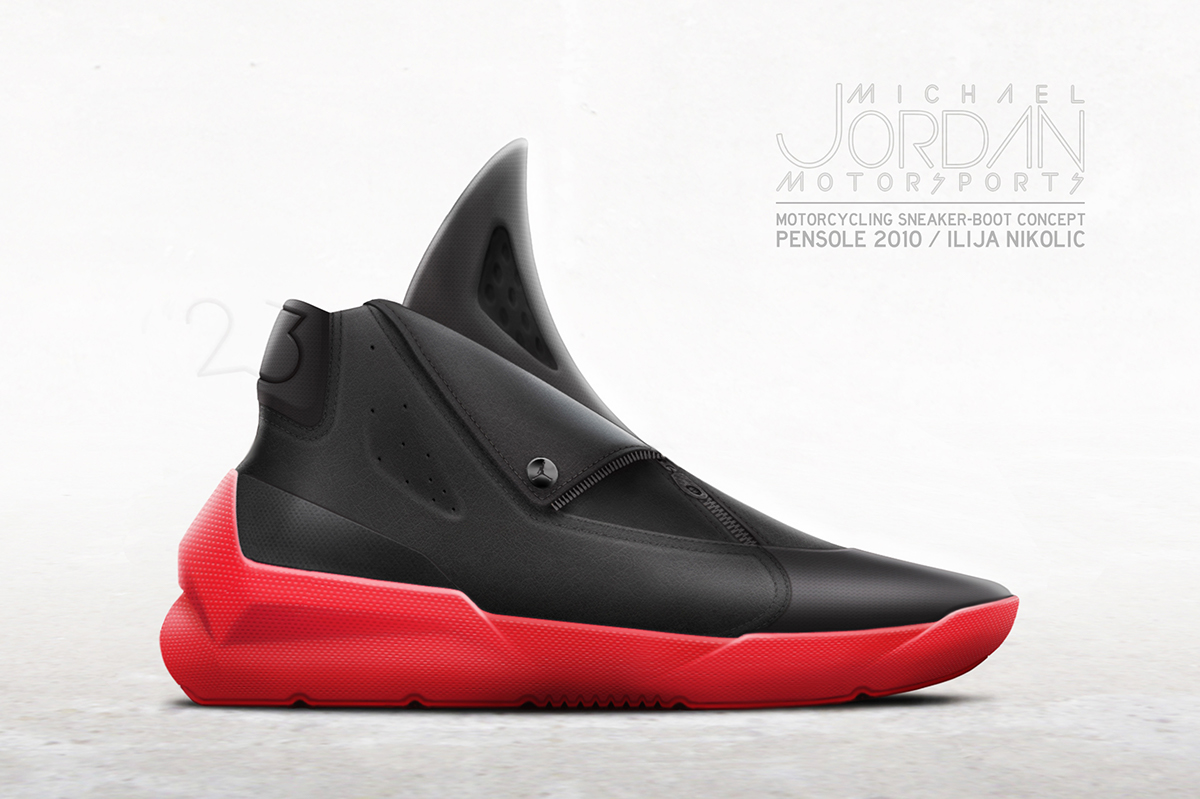 40729f938db0 PENSOLE 2010 - MOTORCYCLING SNEAKER-BOOT CONCEPT FOR MJ