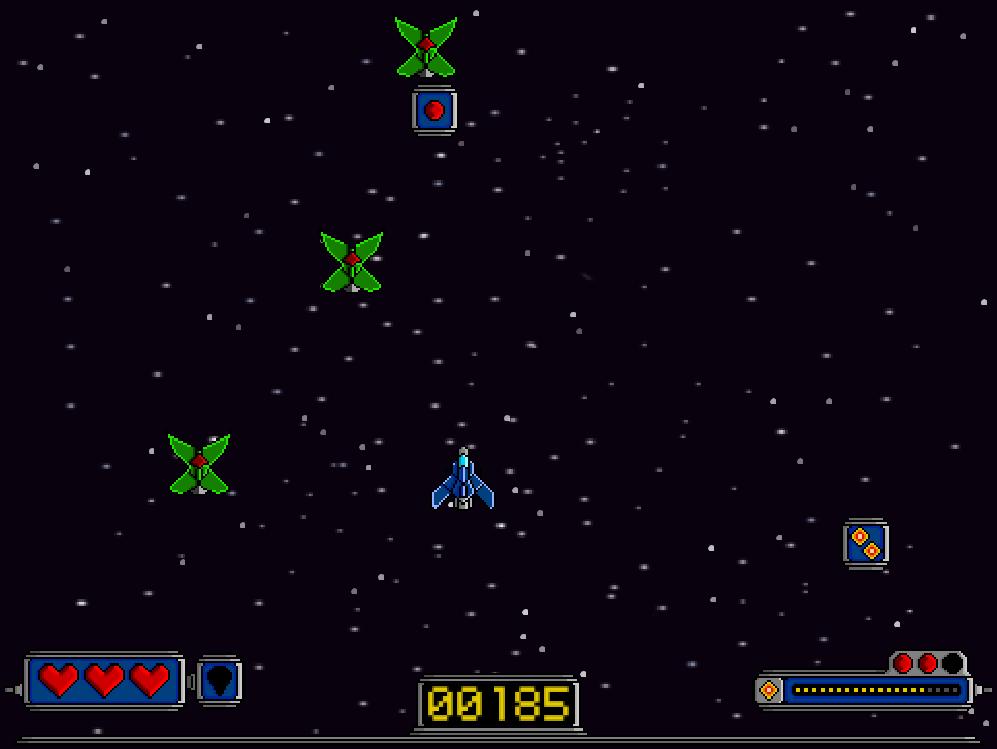 Bullet Hell Game Retro Visual scripting