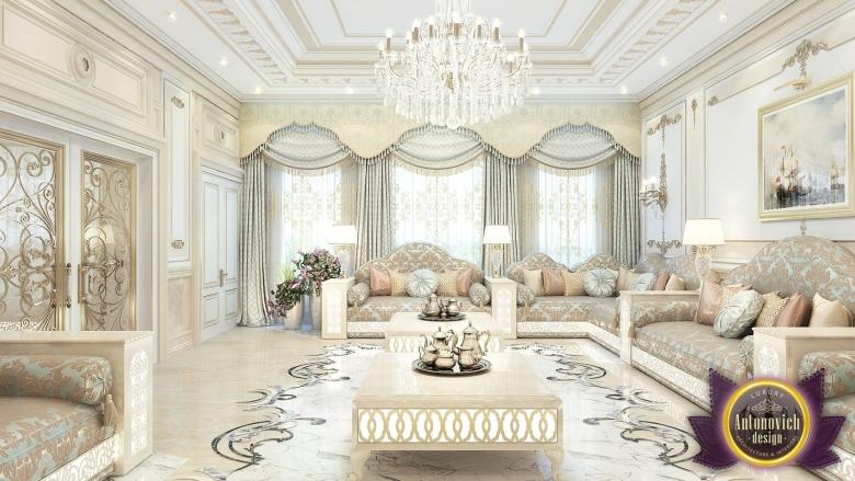 Living Room Interior Of Luxury Antonovich Design On Behance