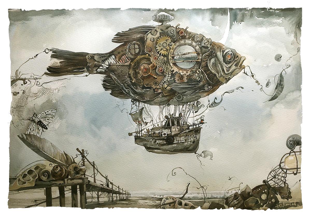 Image may contain: ship, book and drawing