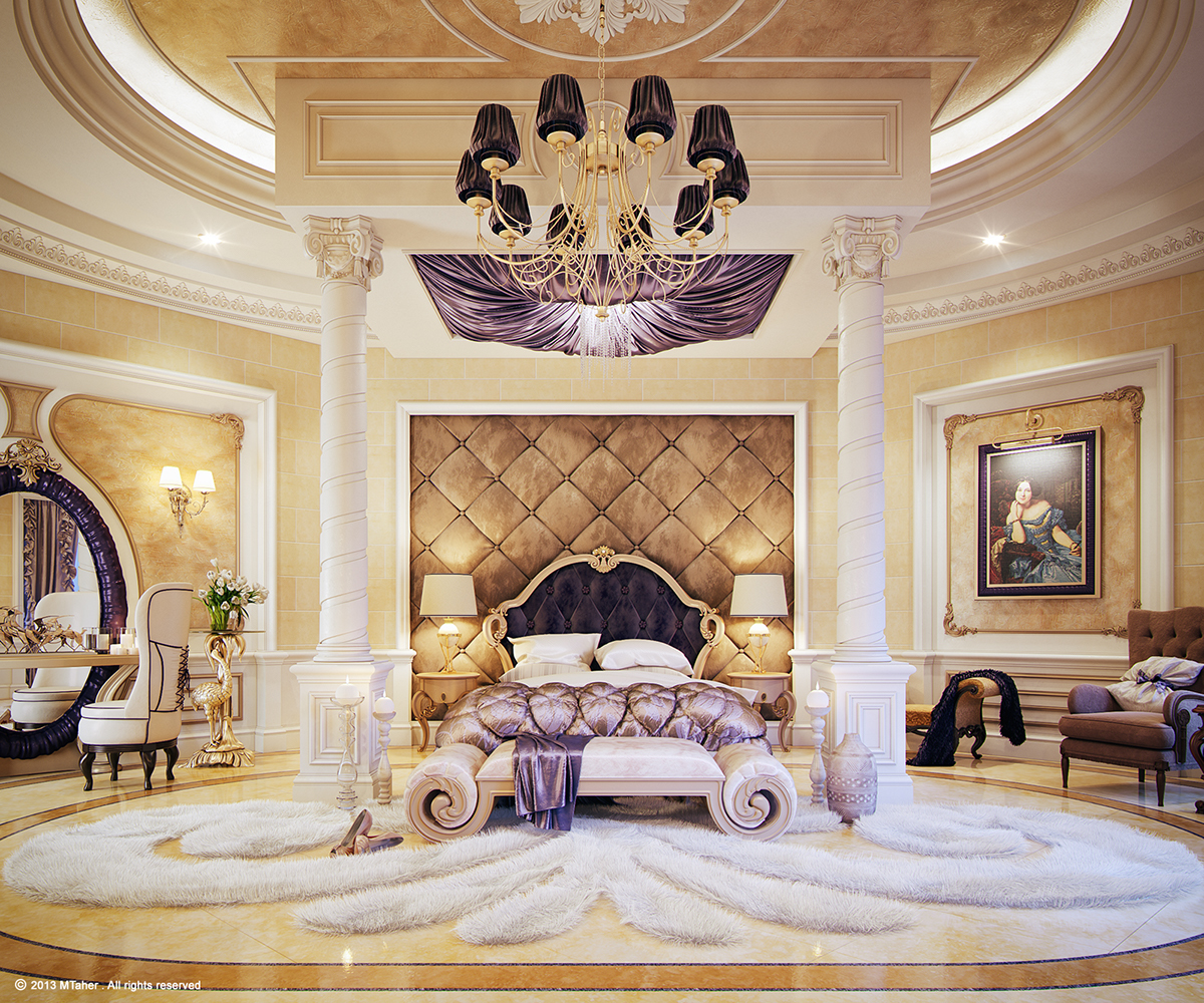 "Luxury Mansion Master Bedroom Interior Design: Luxury ""Master Bedroom"" On Behance"