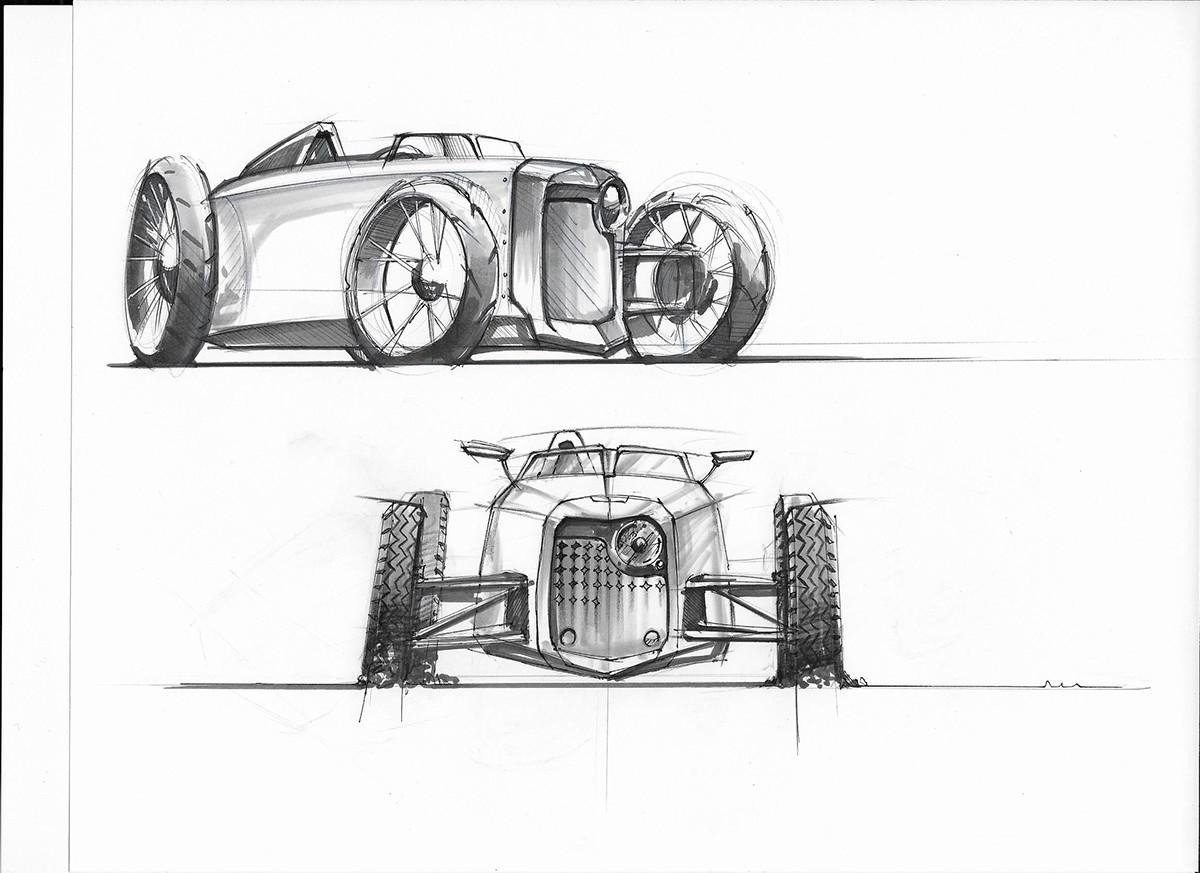 transportation sketches on behance