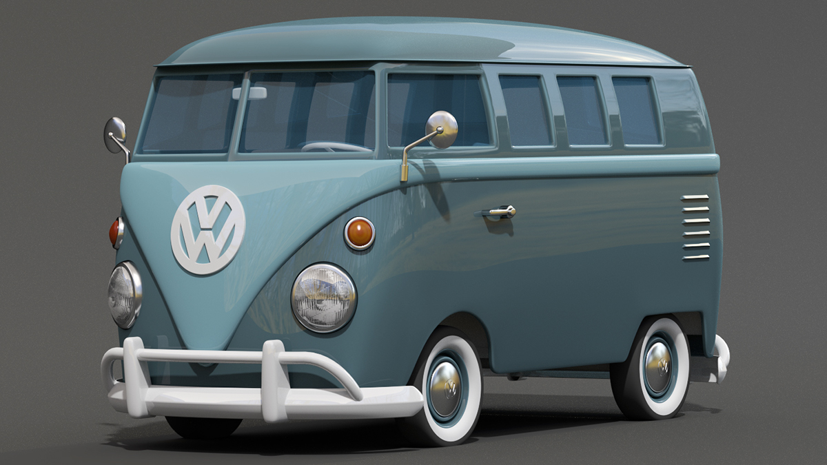 Beautiful Bulldog Car Wiring Diagrams Tiny Car Alarm Wiring Round Wiring A Guitar Remote Start Alarm Installation Old Dimarzio Push Pull Pot PurpleAlarm Diagram 3d   Cartoon Styled Vintage VW Bus On Behance