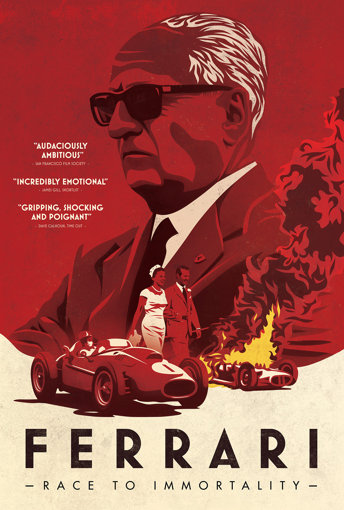 Ferrari Race To Immortality Poster Concept On Wacom Gallery