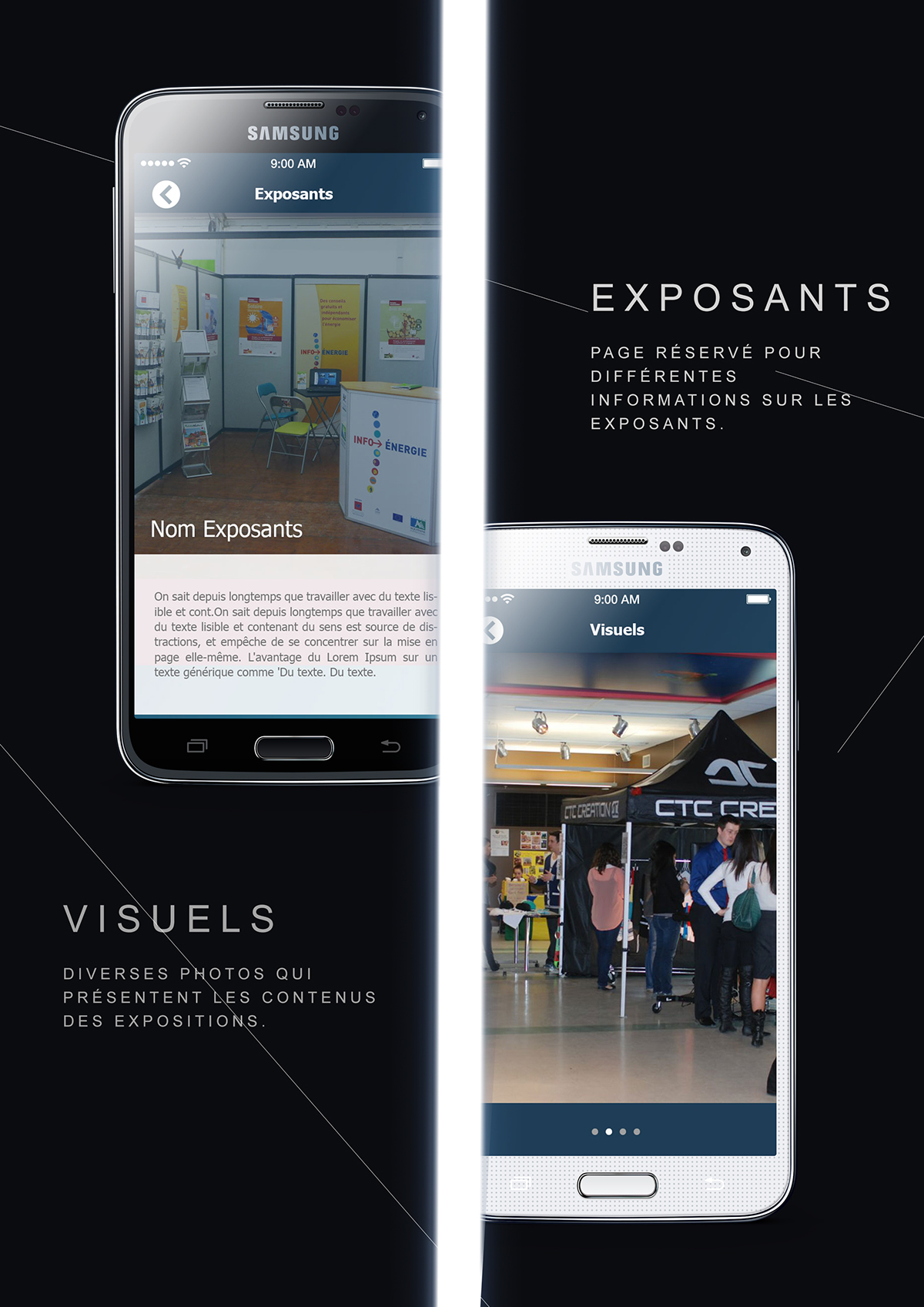 expo android axpo application iOS App Android Application ux UI