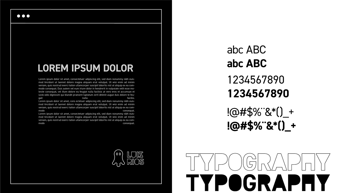 brand branding  identity logo marca inspiration design visual black White