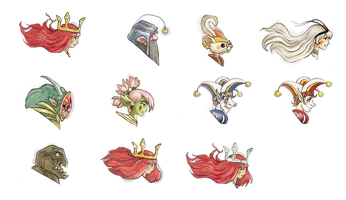 Child Of Light Video Game Cutscene Character Design On