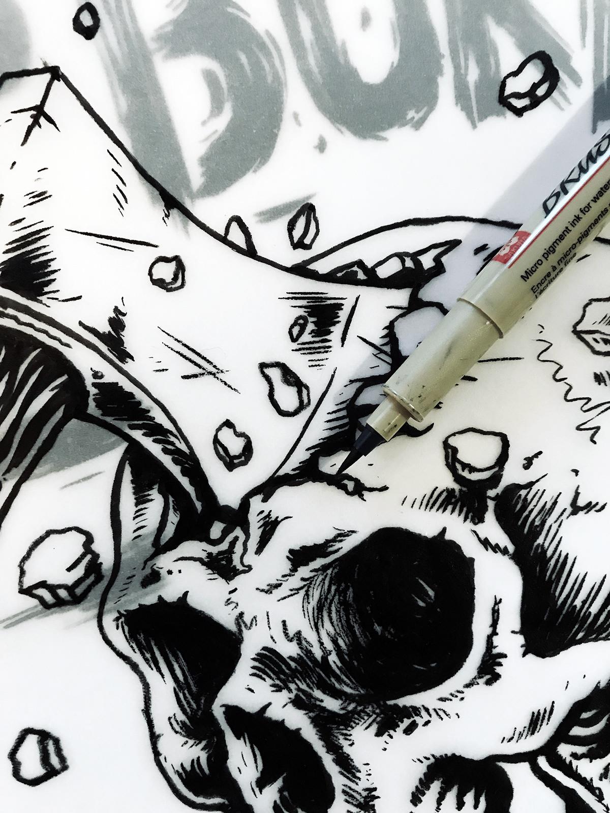 Image may contain: drawing, cartoon and book