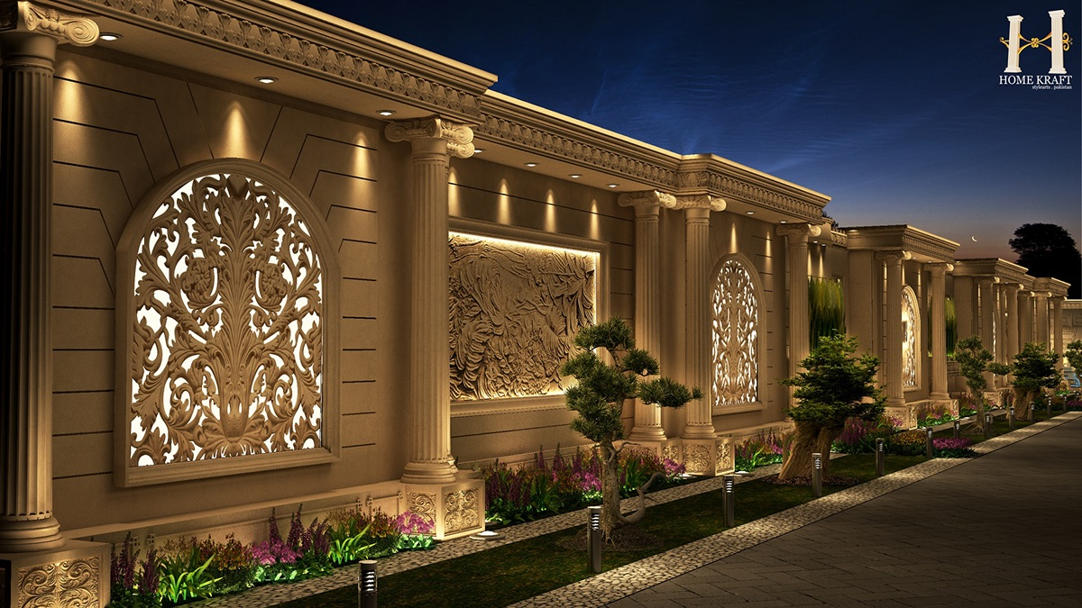 Home Boundary Wall Designs Flisol Home