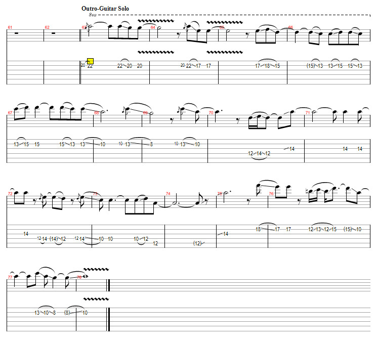 John Frusciante Improvisation Analysis On Behance