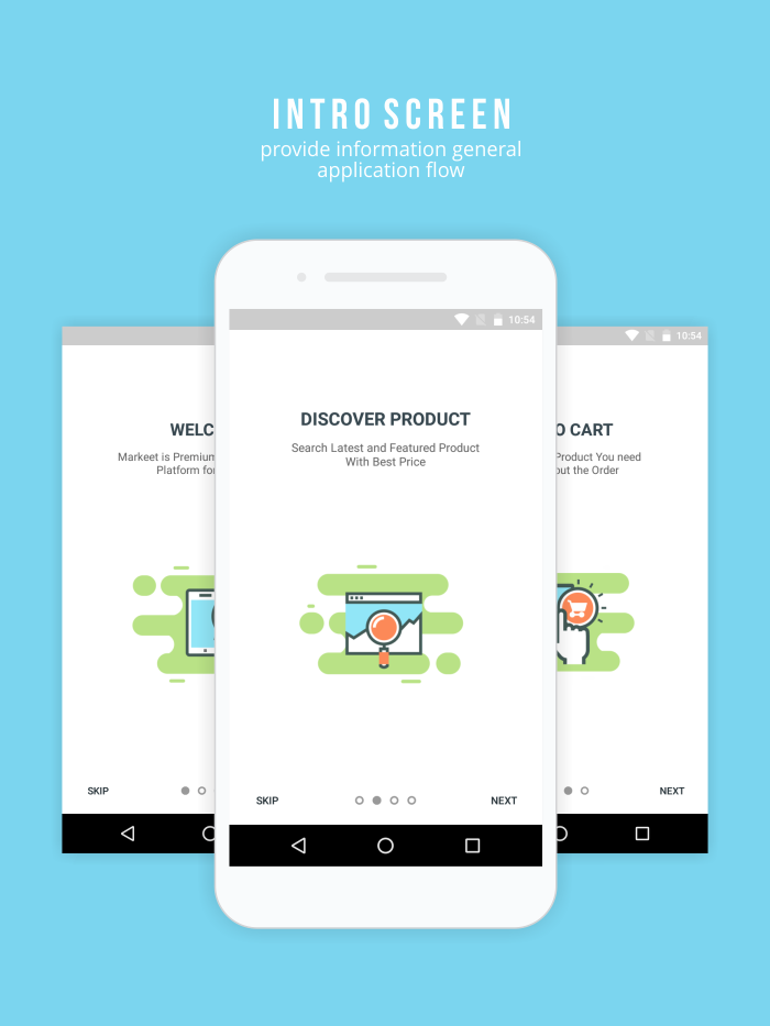 Markeet - Android Online Store 2.3 - 2
