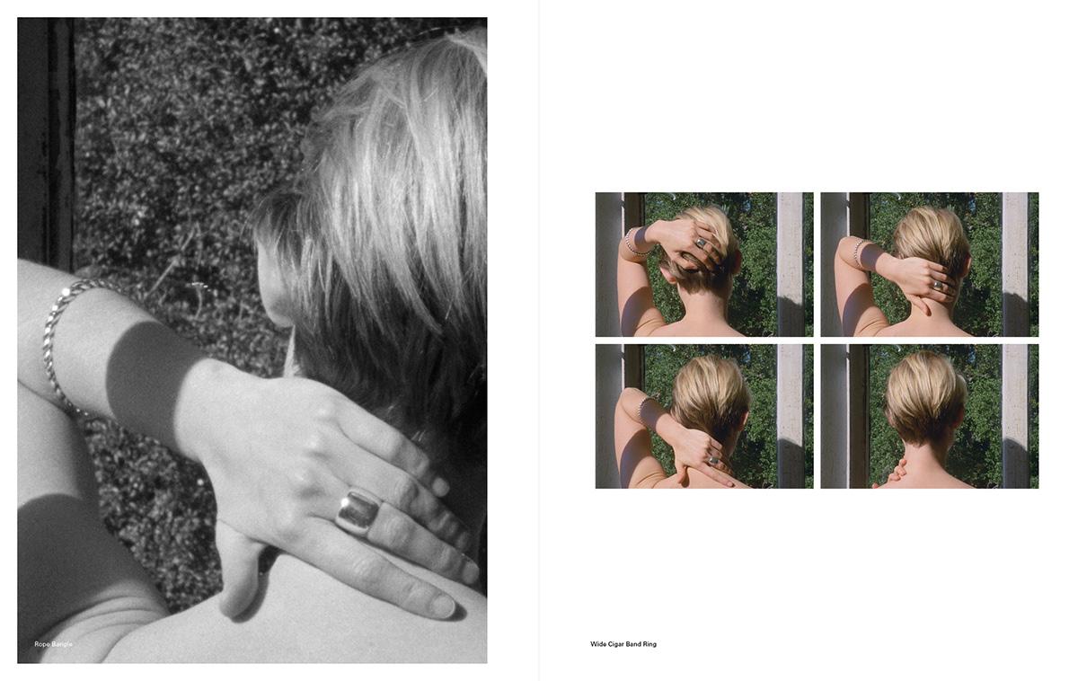 editorial design  film stills Lookbook sophie buhai