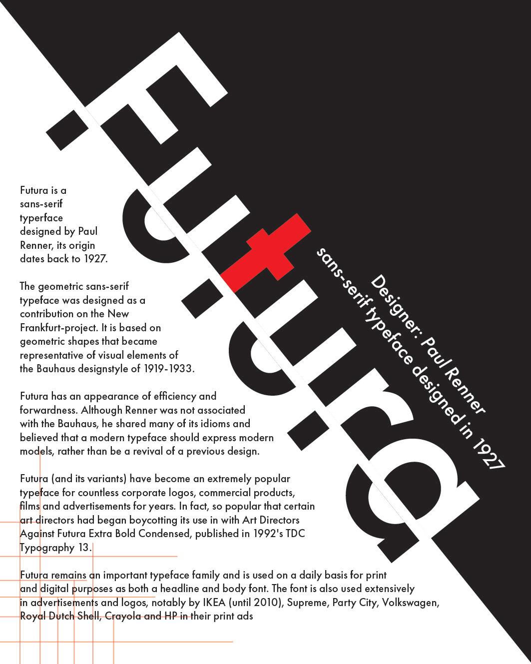 Futura Font design on Behance