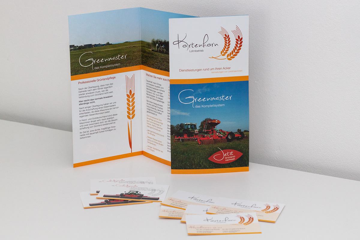 Landwirt Agrarunternehmen landwirtschaft Corporate Design