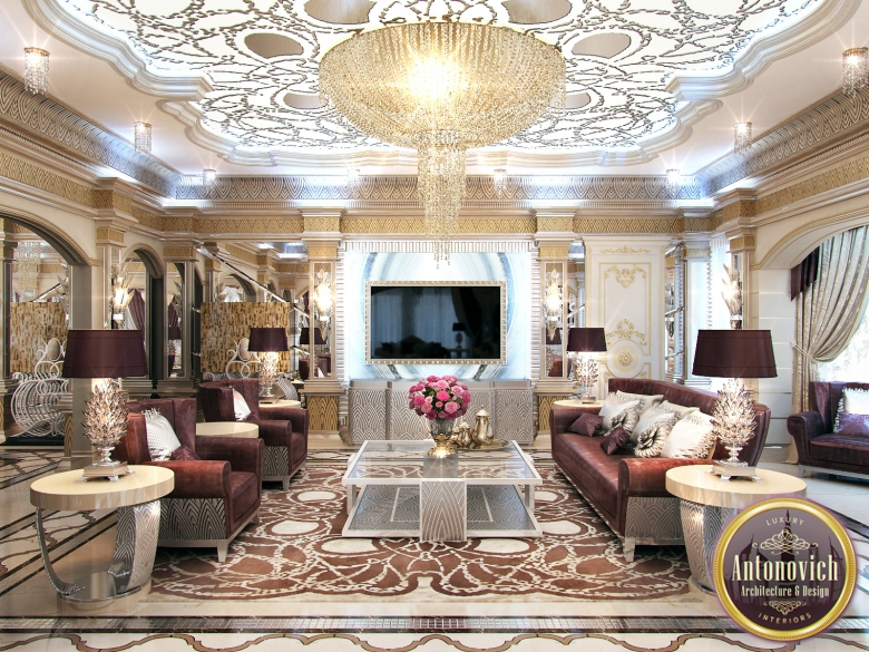 Delightful Arabic House Design From LUXURY ANTONOVICH DESIGN On Behance