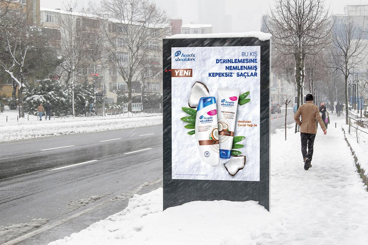 h&S hasan calp head and shoulders kampanya kış kampanyası shampoo winter