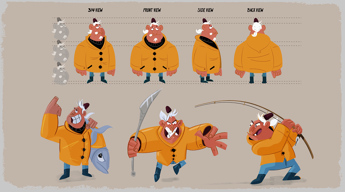 Character Design Visual Development Portfolio : Character design visual development portfolio on