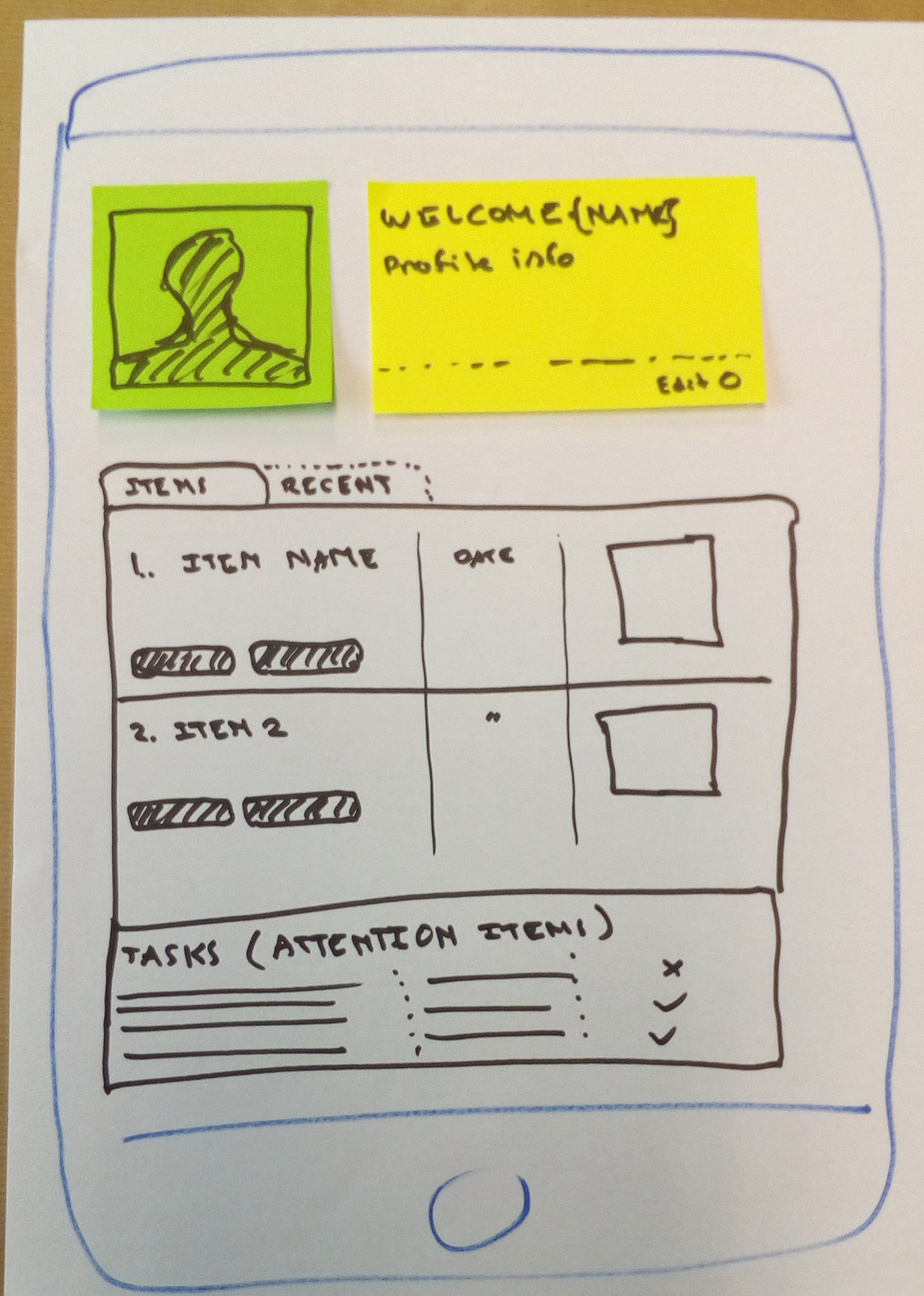 Rapid Prototyping Design Sprint axure clickable demo