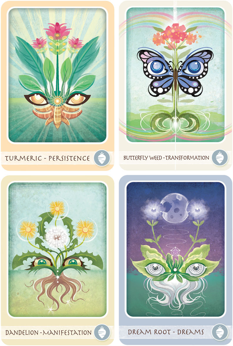 The Herbal Healing Deck on Behance