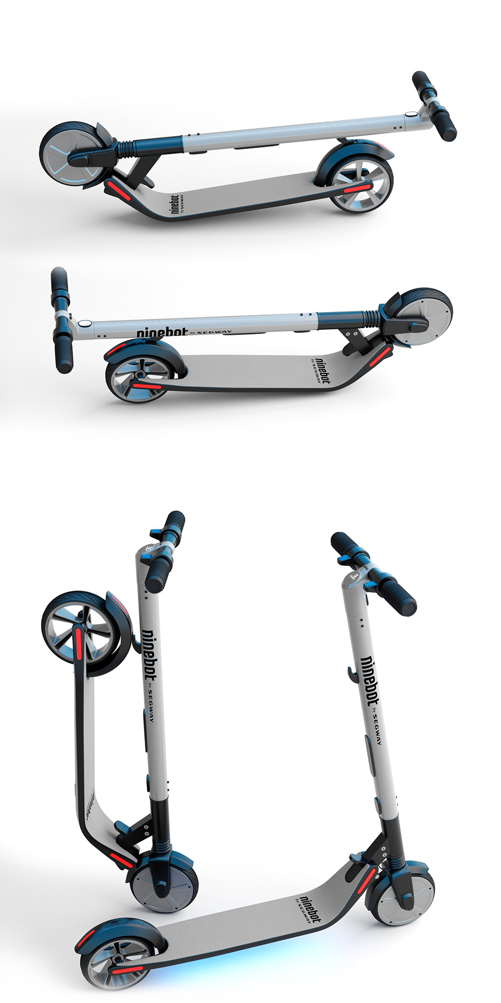 Ninebot by Segway KickScooter ES2 on Behance