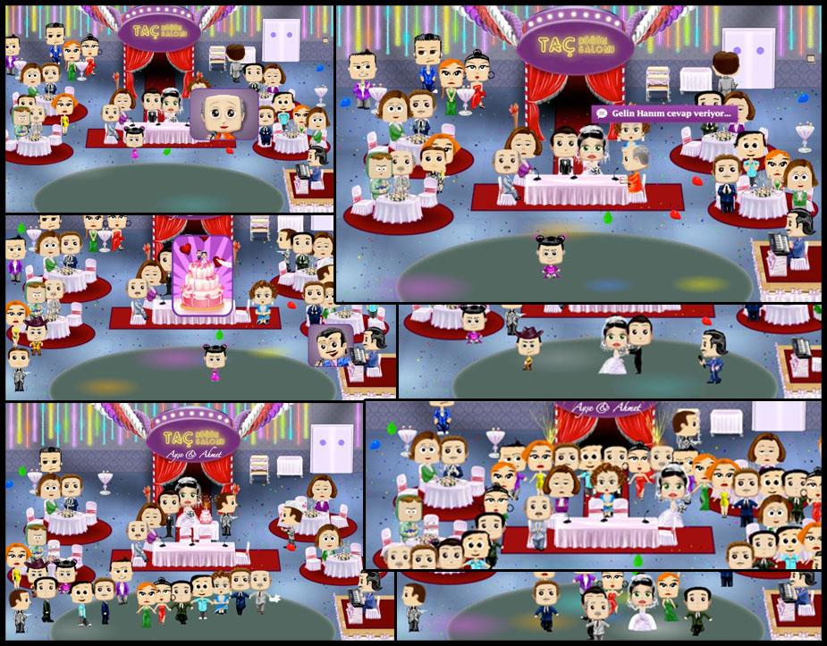 Facebook Application wedding pary advergame