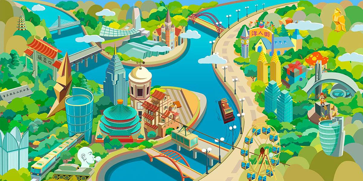 Illustrator 3D logo app iPad enchanted english Education