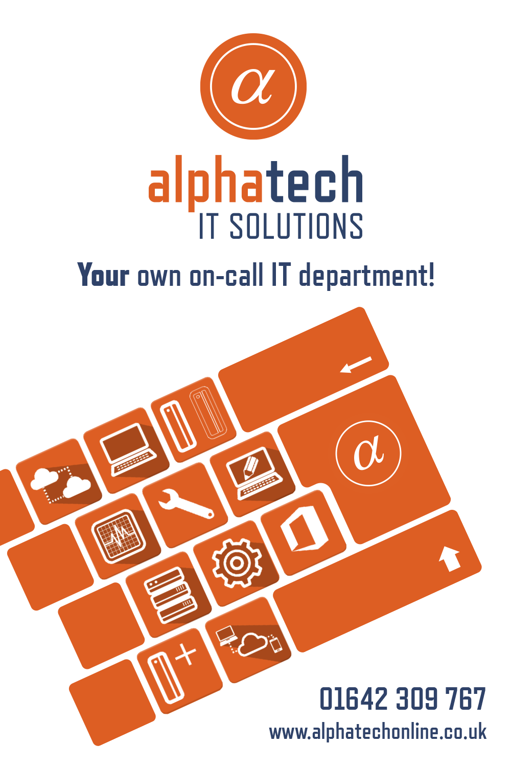 alphatech solutions Alphatech IT Solutions on Behance