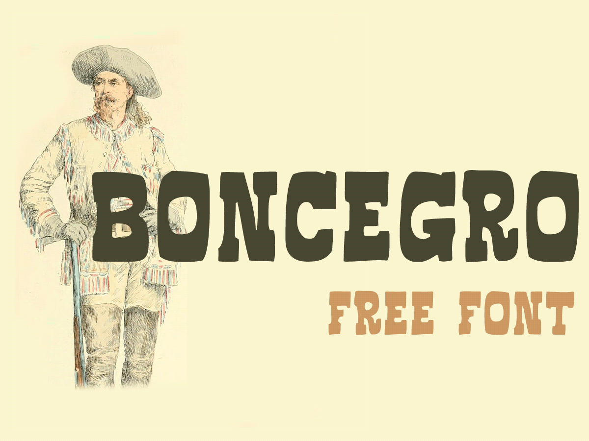 Free font Cyrillic western