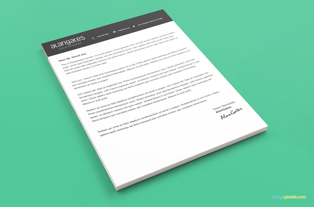 Free Modern Resume Templates Cover Letters and