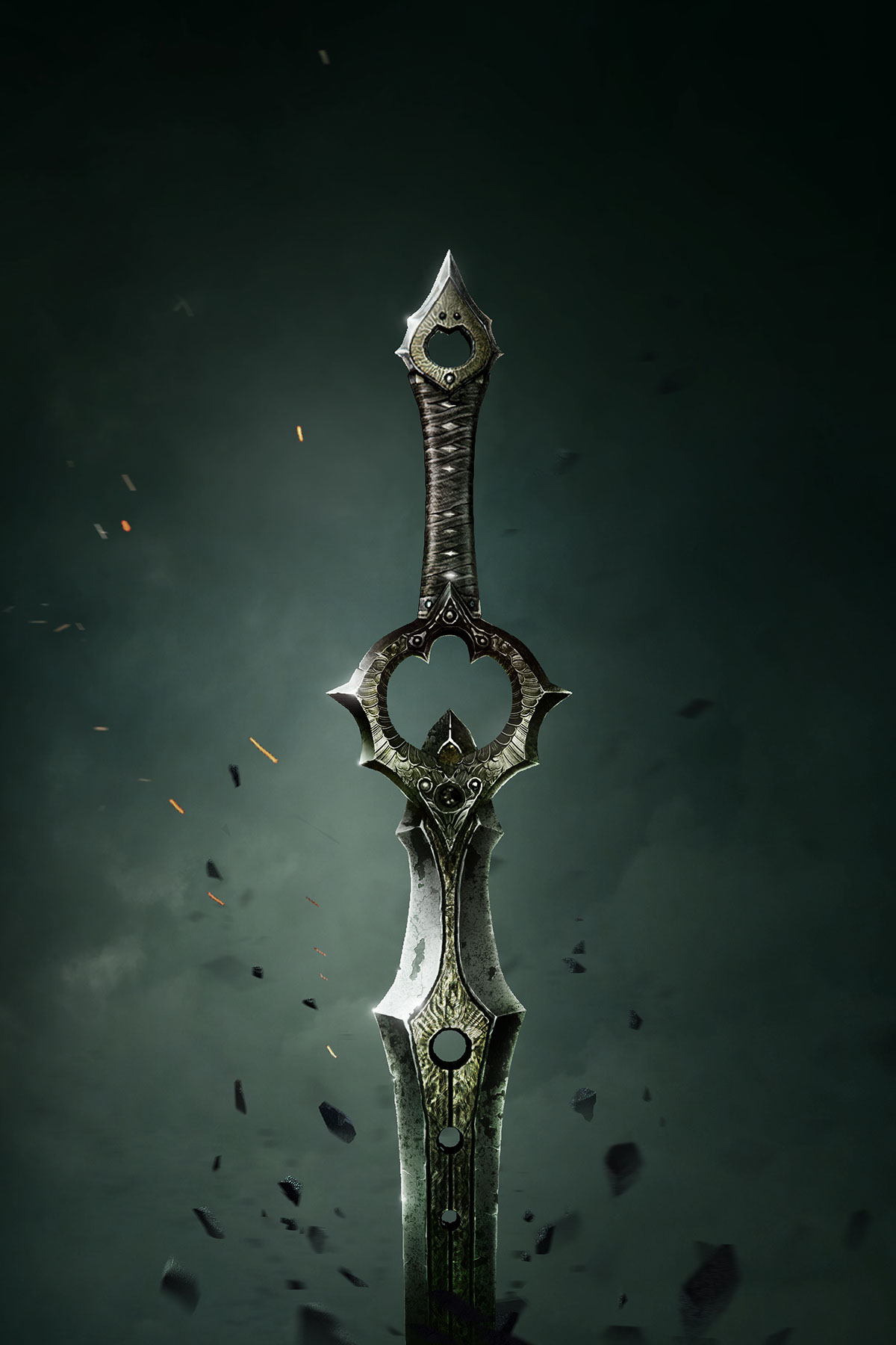 Posters For Infinity Blade On Behance