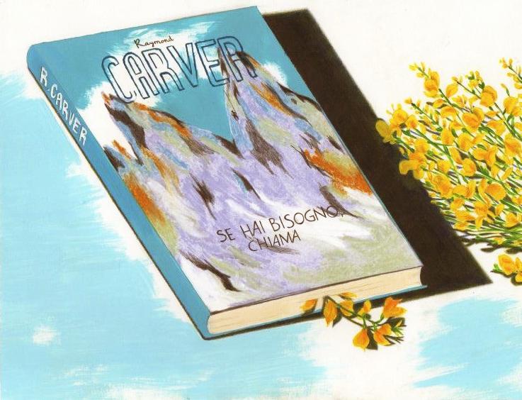 illustrazione raymondcarver poesia