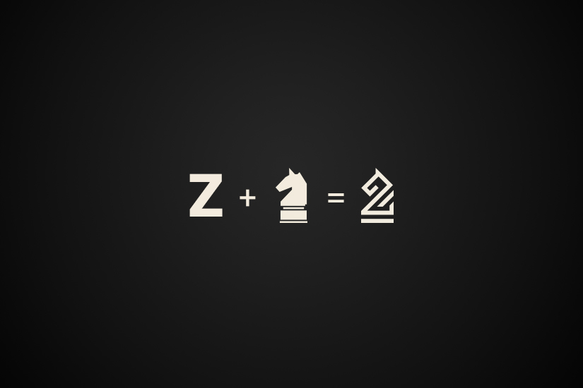 business company logo branding  strategy chess horse Zeitgeist professional logo clean