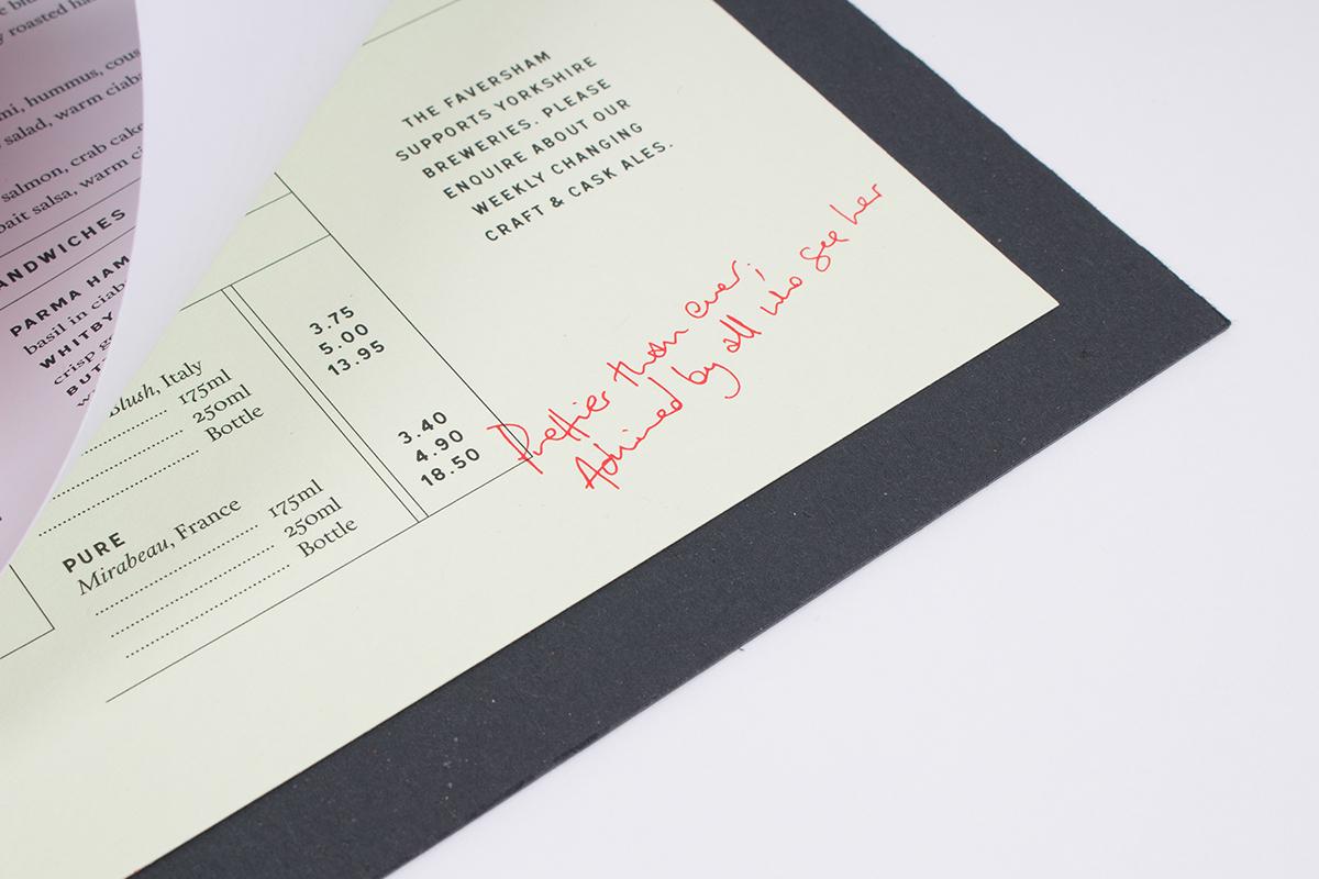 logo restaurant wedding menu brochure Catalogue business card foil gold binding