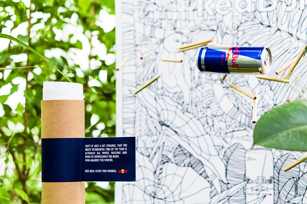 Red Bull lithuania McCann McCANN Vilnius gift ILLUSTRATION