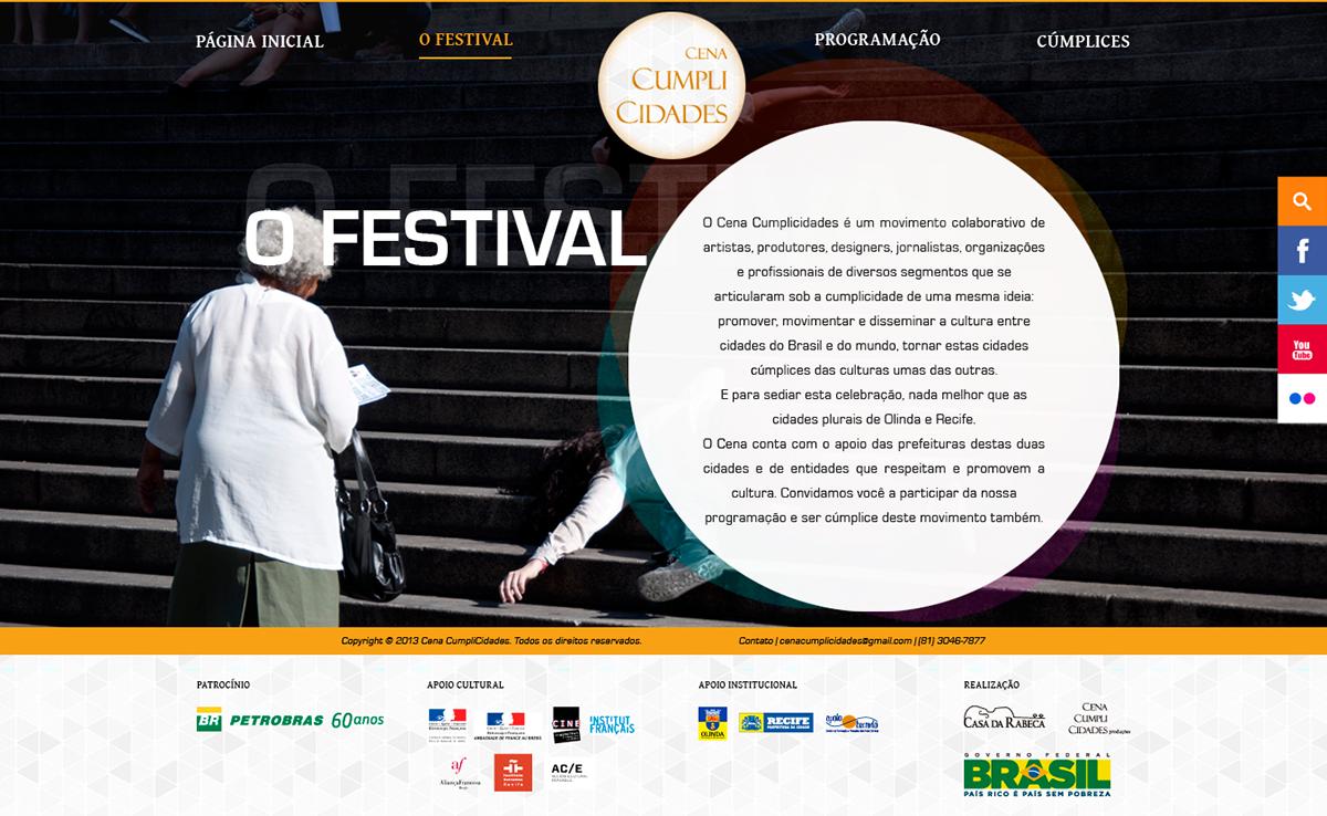 Web Webdesign design UI festival