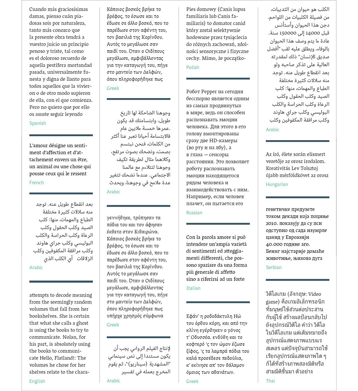 Ruota – Multi script super family typeface on Behance
