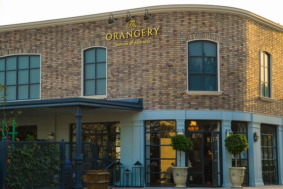 the orangery tearoom  u0026 patisserie on behance