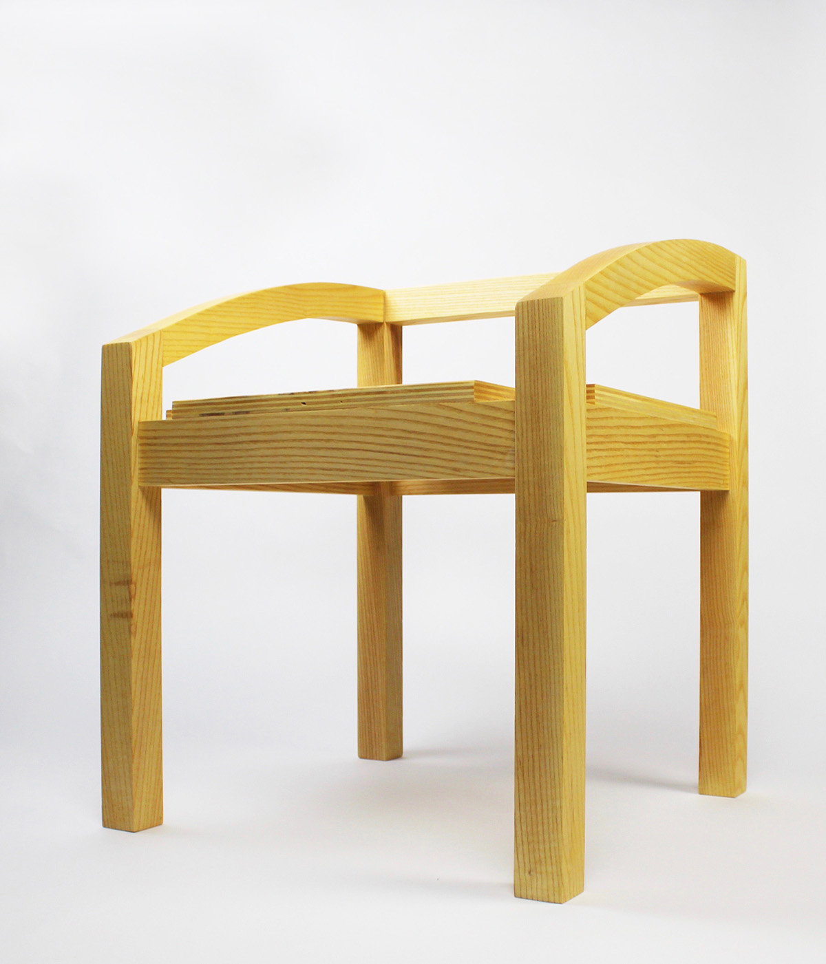 This Aesthetically Simple But Sturdy Chair Supports The Body Comfortably As  The Back Of The Chair Hits Right On The Lower Back.