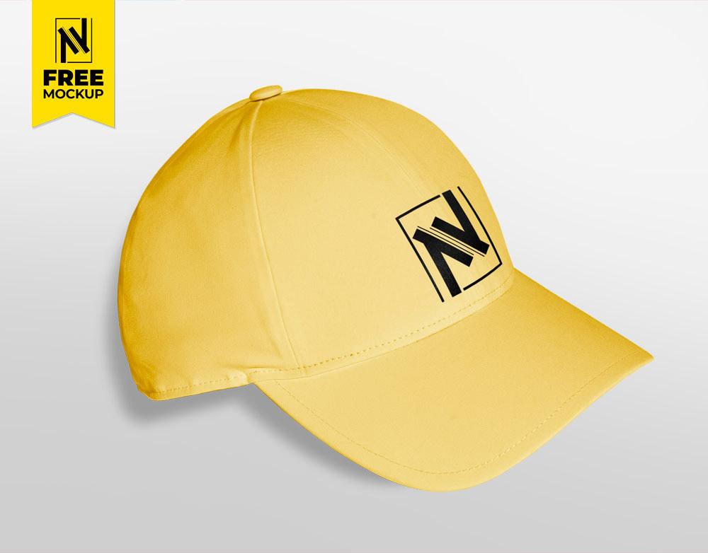 cap Mockup free advert logo brand Nabil Al-Nemer