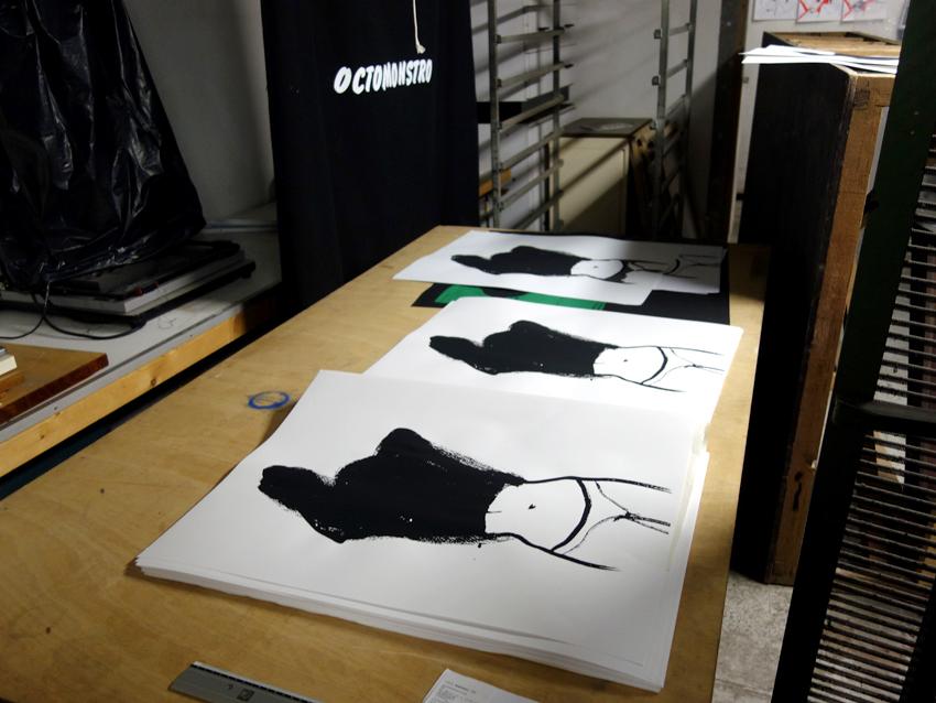 atelier octobre,loren capelli,sérigraphie,silkscreen,microedition,DIY