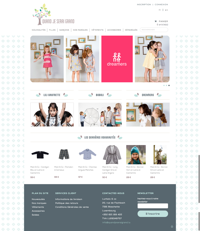 Websites / E-shop