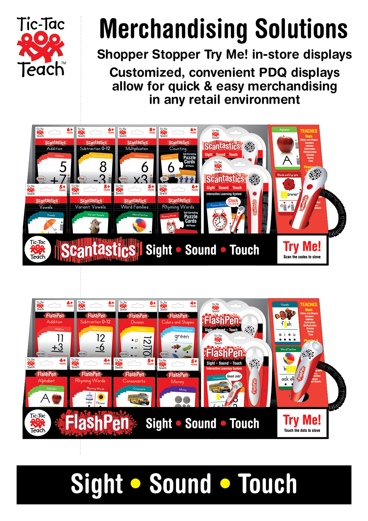 logo product line children educational interactive Flash Cards electronic merchandising